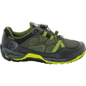 Jack Wolfskin Jungle Gym Texapore Chaussures à tige basse Enfant, gorilla